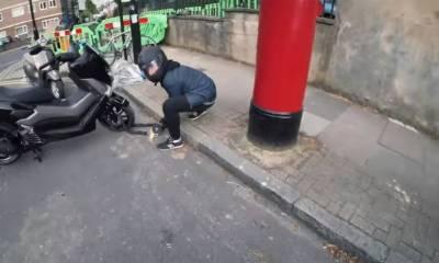 vídeos de robos de motos