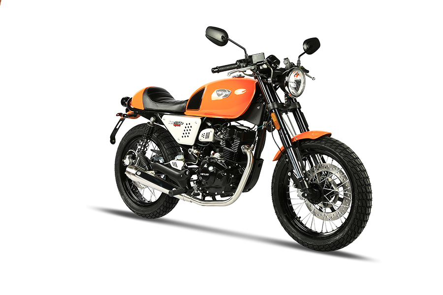 Hanway Raw 125 SR Sport Orange