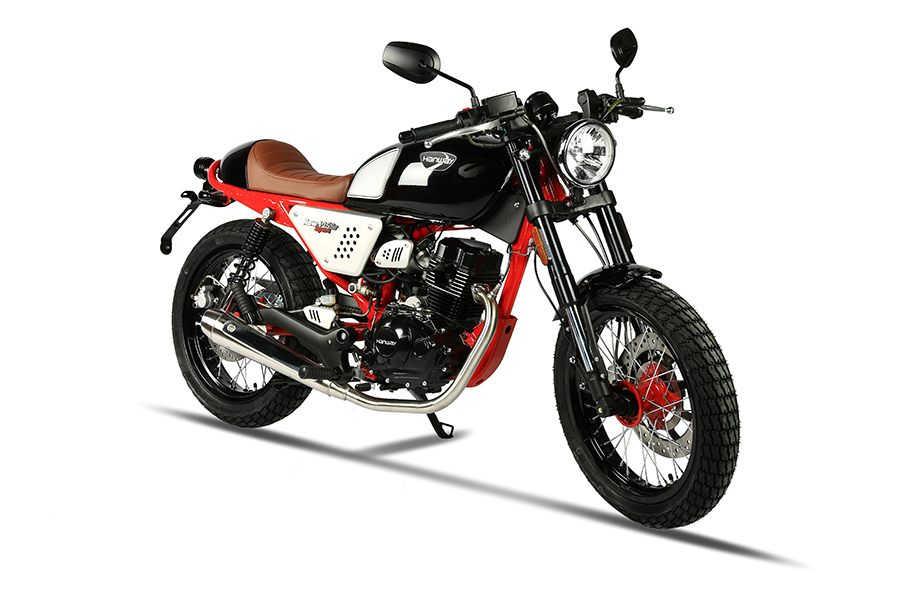 Hanway Raw 125 SR blackred