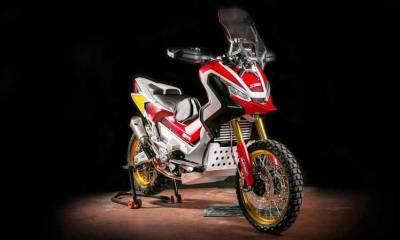 Honda X-ADV off-road