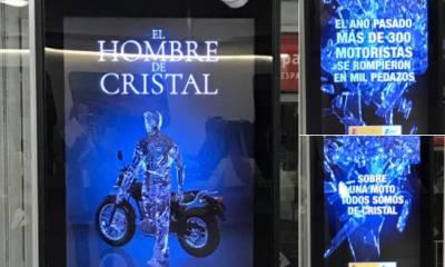 Campaña DGT el hombre de cristal