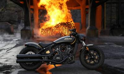 Indian Scout Bobber Jack Daniel's