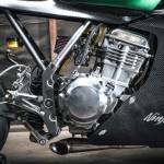 Kawasaki EX250 Racer motor