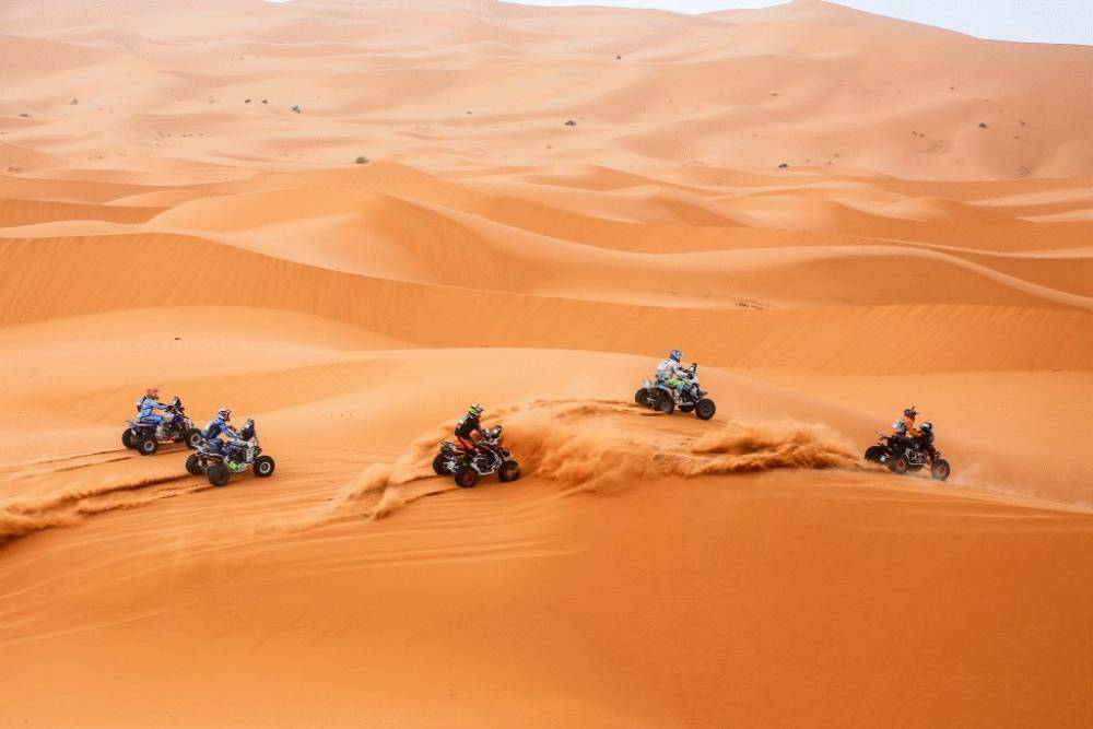 Merzouga Rally 2018 quads