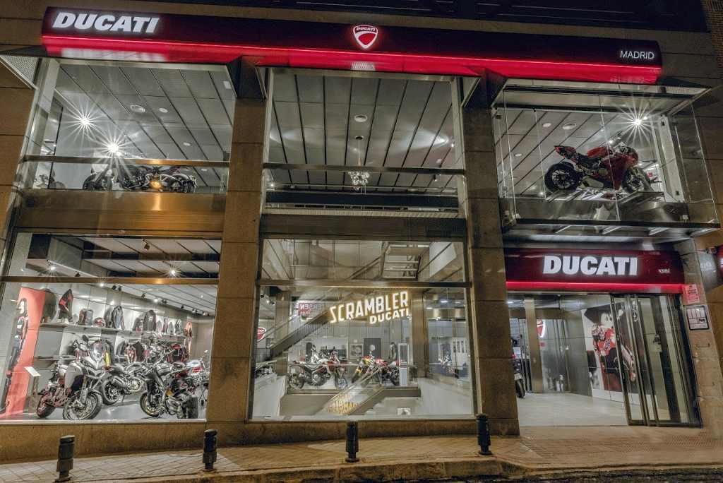 Nuevo concesionario Ducati en Madrid