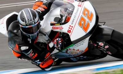 Test Jerez 2018 Moto2 y Moto3: Sam Lowes
