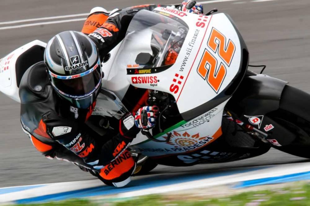 Test Jerez 2018 Moto2 y Moto3: Sam Lowes