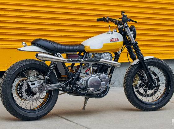 Yamaha XT500 Ray of Sunshine, homenaje a la Baja California