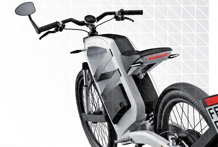 moto eléctrica FEDDZ zaga