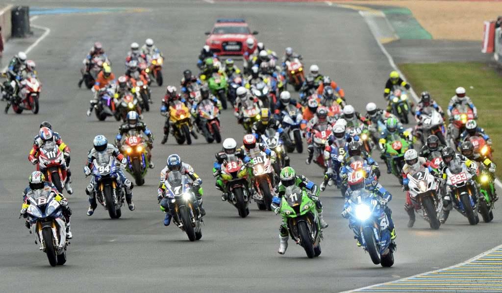 24 horas de Le Mans 2018 salida