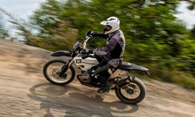 BMW R1200GS de enduro