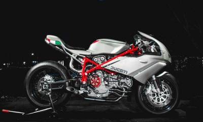 Ducati 749 custom Jett Design