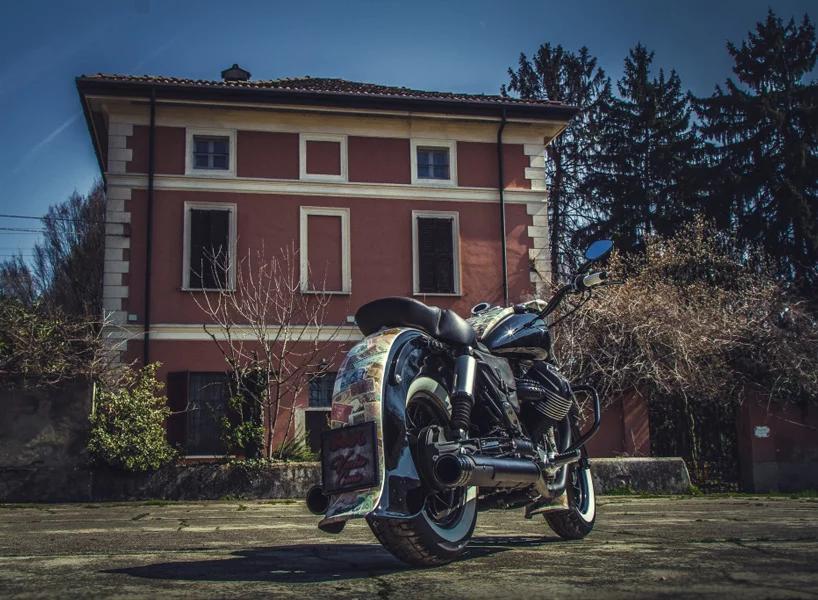 Moto Guzzi Old Money