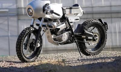 Honda XLR250R café racer