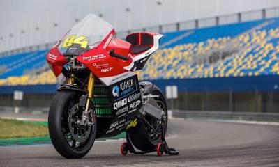Liion-GP Moto eléctrica de carreras