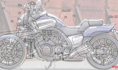 Yamaha VMax con 200 CV y tres ruedas