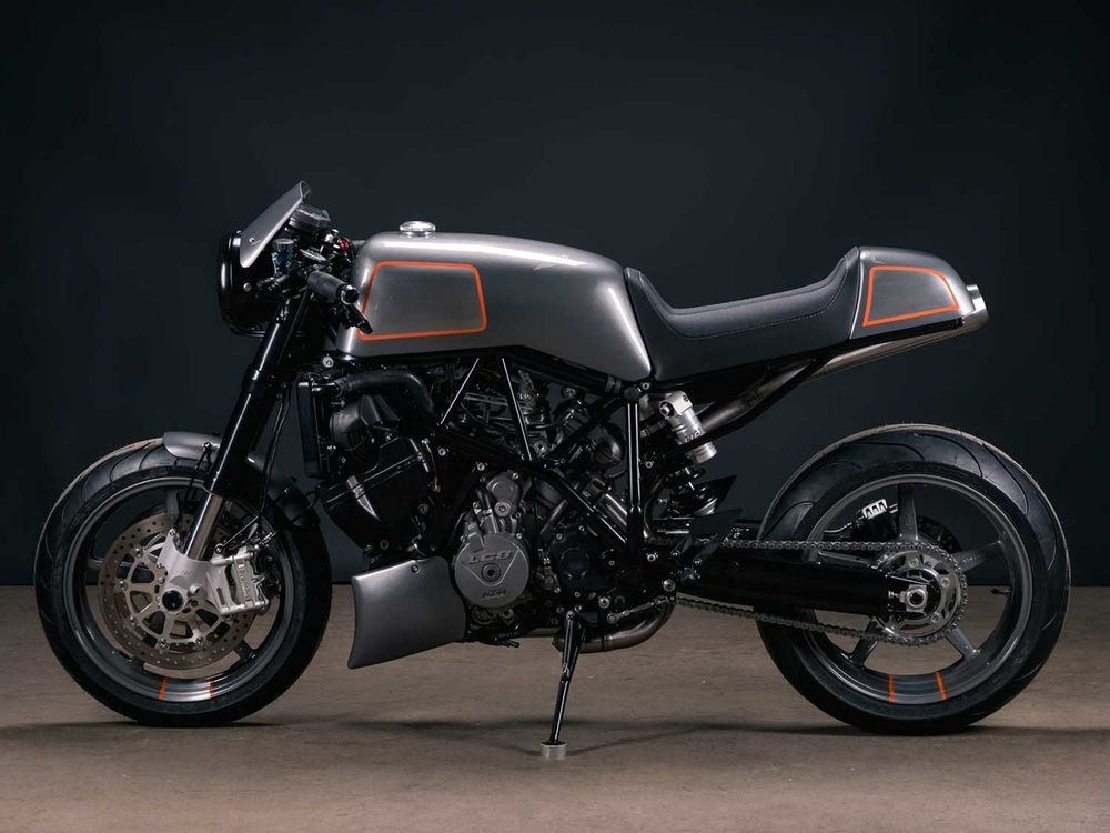 KTM 990 Super Duke de Analog Motorcycles