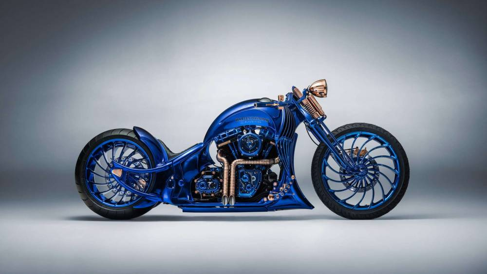 Harley-Davidson Bucherer Blue Edition