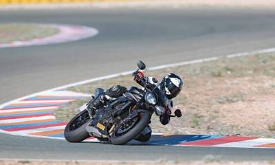 Prueba Triumph Speed Triple S y RS 2018