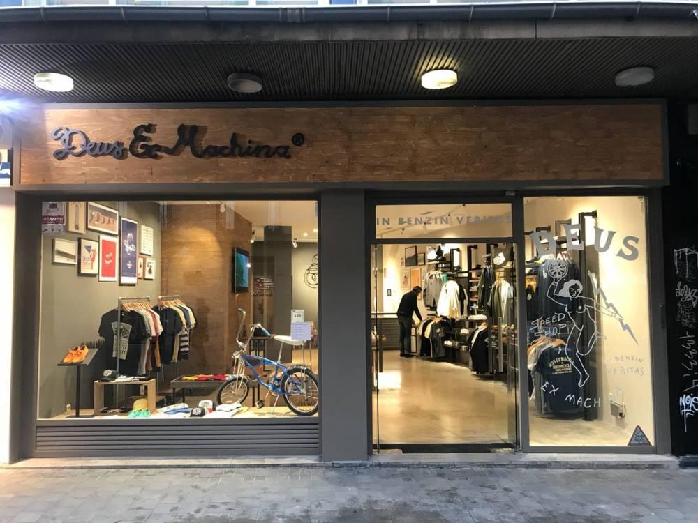 tienda Deus Ex Machina en Madrid
