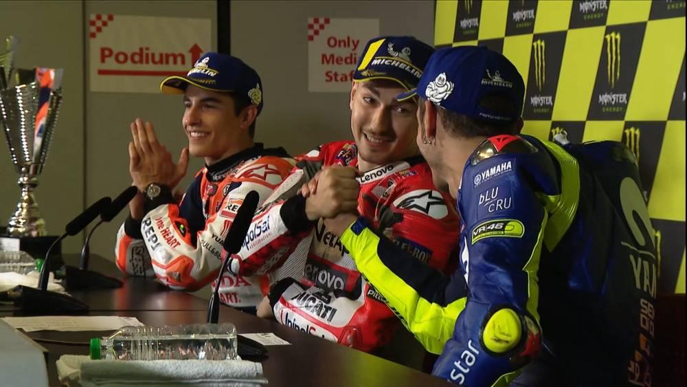 Rossi no es un gran piloto, es un campeón