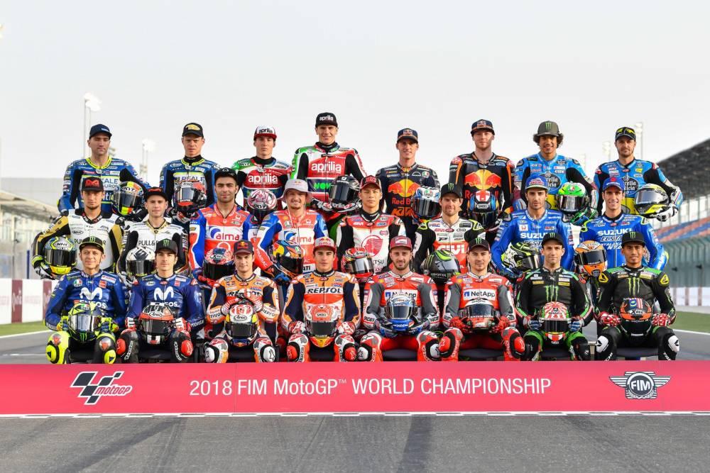 parrilla motoGP 2018