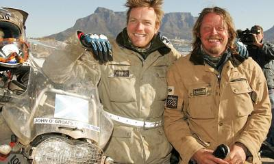 Ewan McGregor y Charley Boorman, ¿'On the road again'? Eso es lo que podría desprenderse del 'tweet' que puso ayer el actor y amigo del popular McGregor, Charley Boorman
