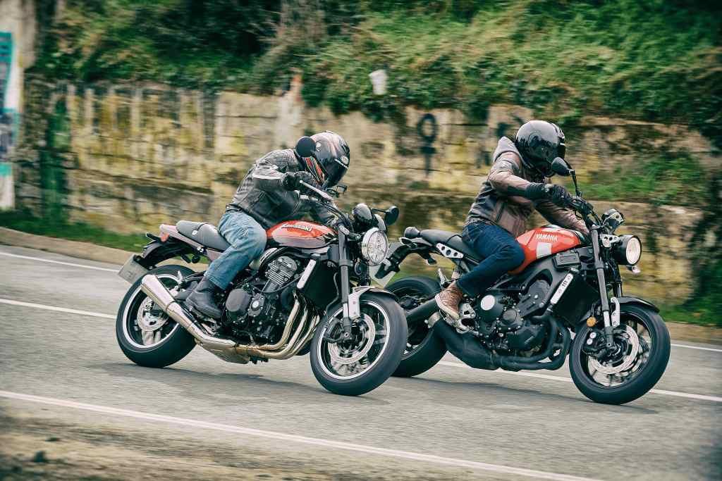 Comparativo Kawasaki Z 900 RS vs Yamaha XSR 900