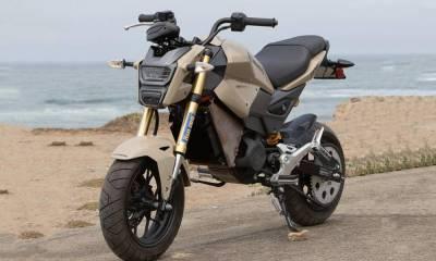 Honda MSX 125 transformada en moto eléctrica