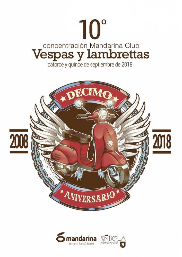 10ª Concentración Mandarina Club de Vespas y Lambrettas.