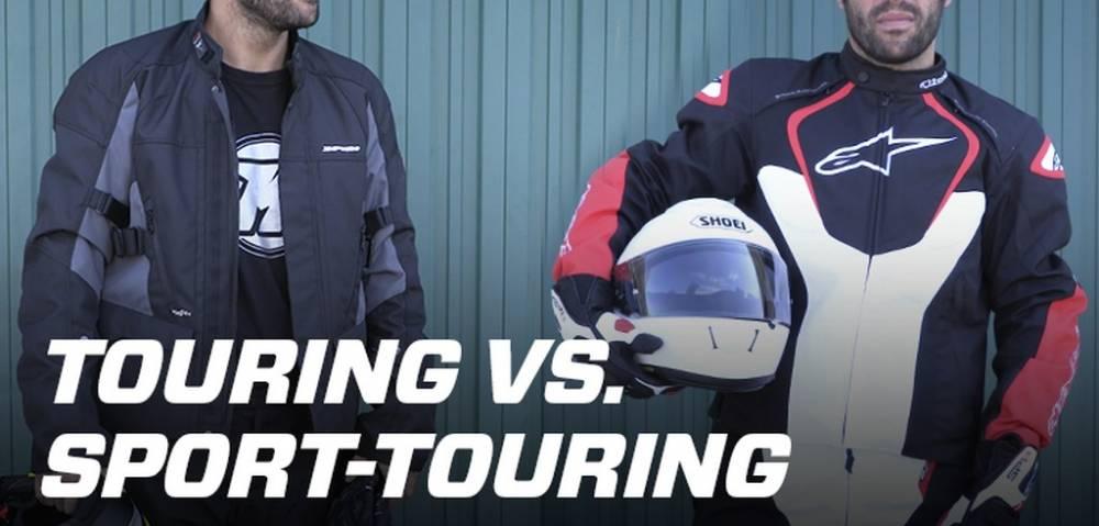 Diferencias entre equipación touring y sport-touring