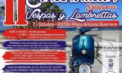 II Concentración Vespas y Lambrettas de Estepona