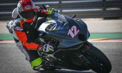 La MV Agusta de Moto 2 ya está rodando