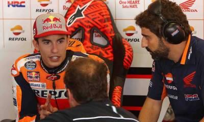 Márquez habla acerca de las Ducati