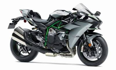 Kawasaki Ninja H2 en Intermot 2018