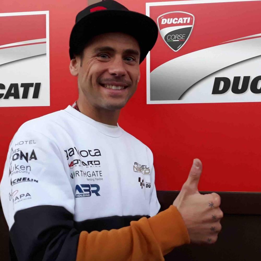 Bautista correrá con Ducati