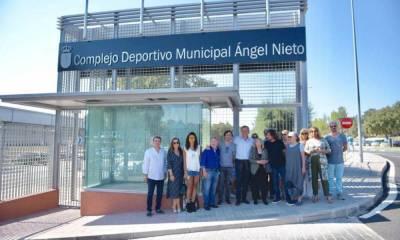 Boadilla del Monte rinde tributo a Ángel Nieto