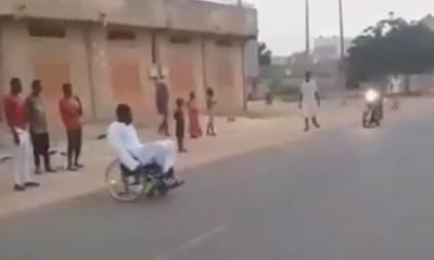 jeta en silla de ruedas