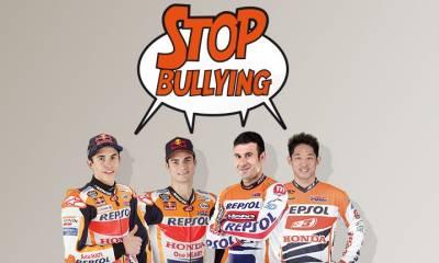 pilotos del Repsol Honda luchan contra el bullying