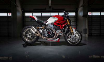 Ducati Monster 1200 Tricolore Motovation