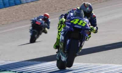 """Rossi: """"Con esta M1 con suerte haríamos 4º si alguien se cae"""""""