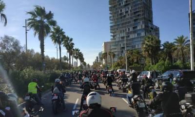Manifestación Motera Barcelona 2018