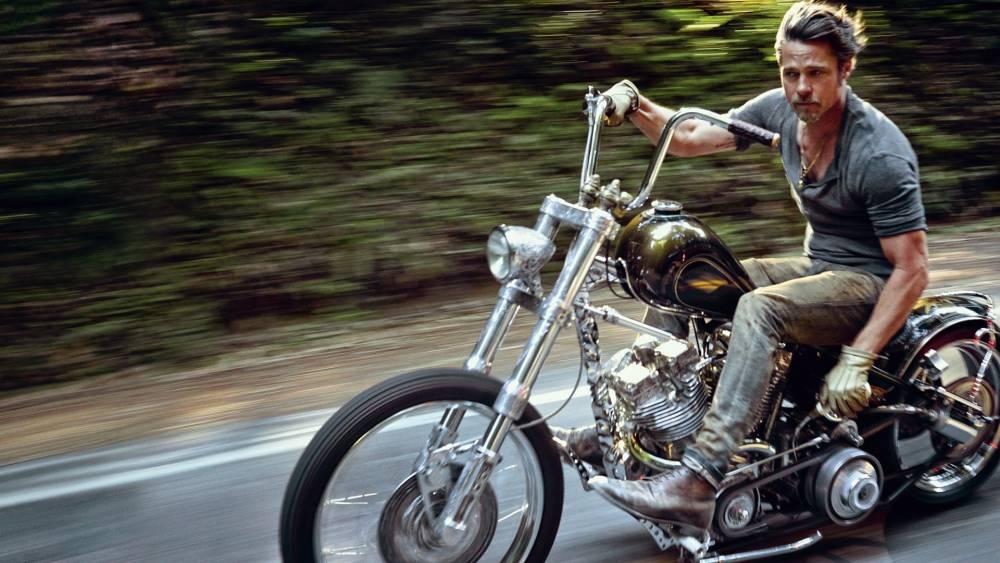 las motos de Brad Pitt