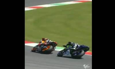 Duelo entre Márquez y Lorenzo GP Italia 2016