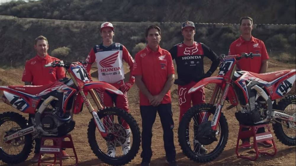 vídeo del Team Honda HRC 2019_1