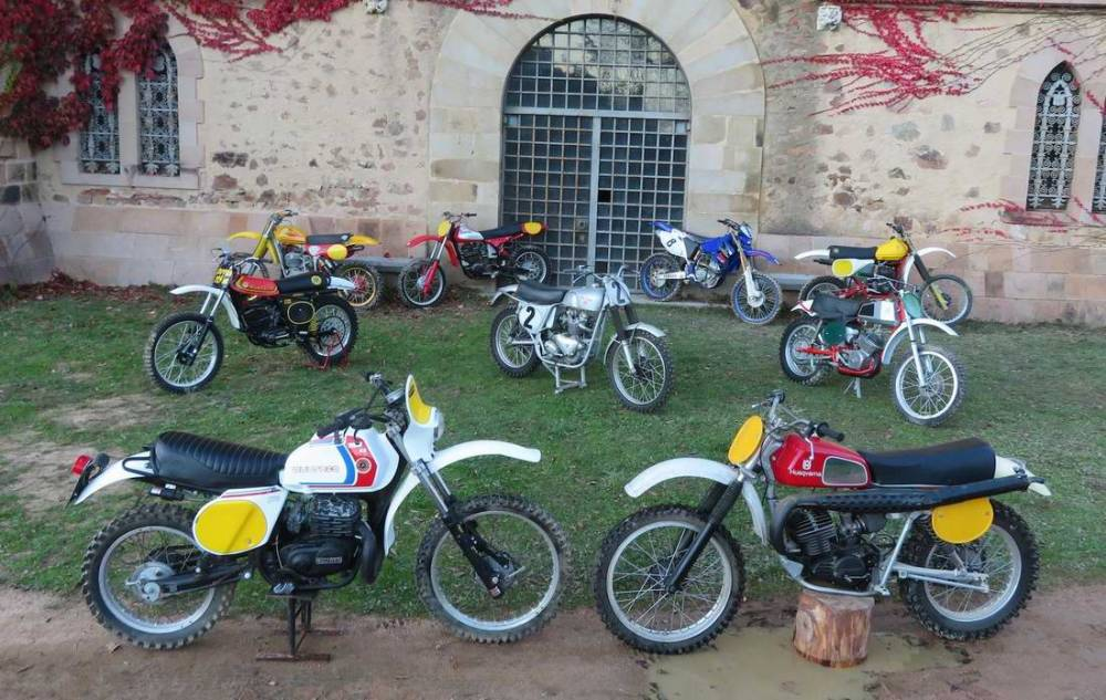 100 motos de off road a subasta en Bonhams