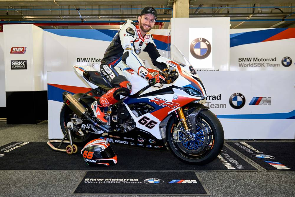 BMW S1000RR 2019 de Tom Sykes
