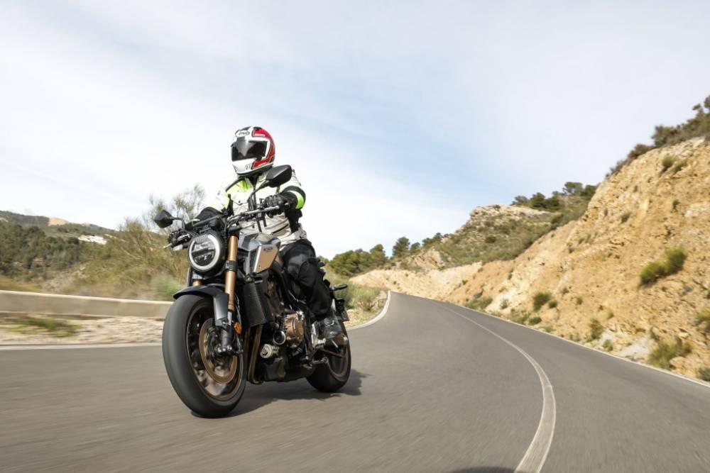 Prueba Honda CB650R 2019