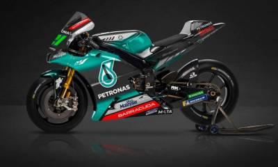 moto del Petronas Yamaha SRT
