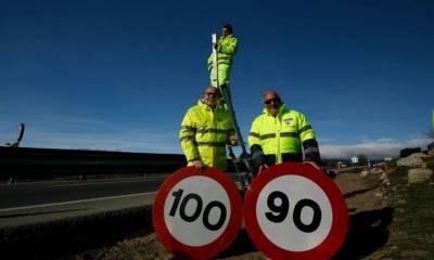 nueva velocidad máxima carreteras convencionales